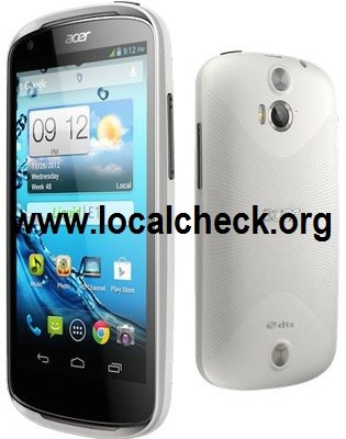 Acer Liquid E1, Full Phone Specification, Features and Reviews