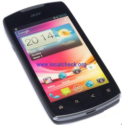 Acer Liquid Glow E330 Full Specifications
