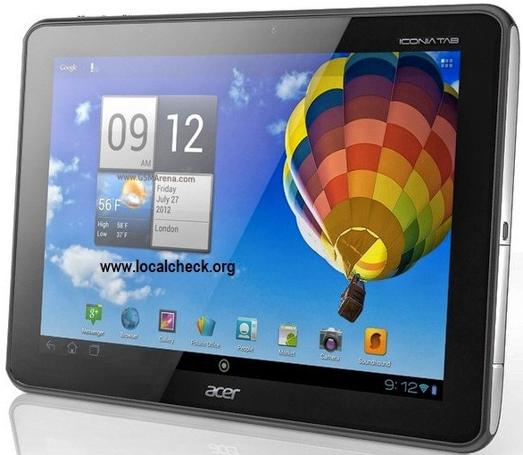 Acer Iconia Tab A510 - Specifications, Features and Reviews