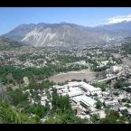 Muzaffarabad, Azad Kashmir from PC Hotel.3gp